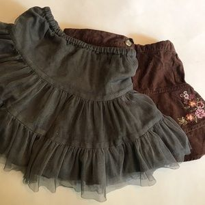 Other - Gymboree and Old Navy Skirts 3T